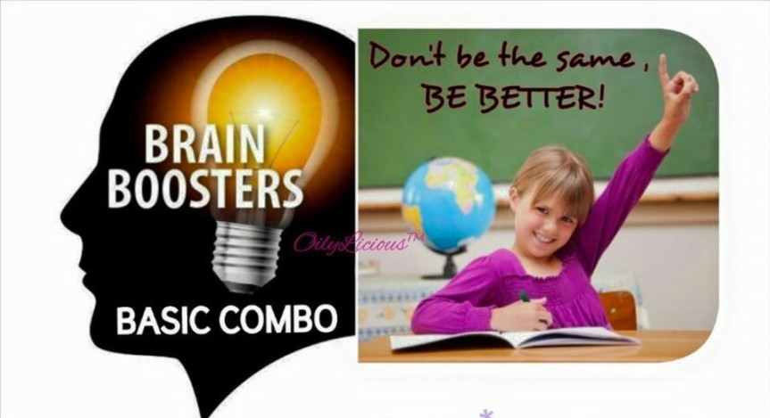 Brain Booster: Back 2 School with Essential Oils