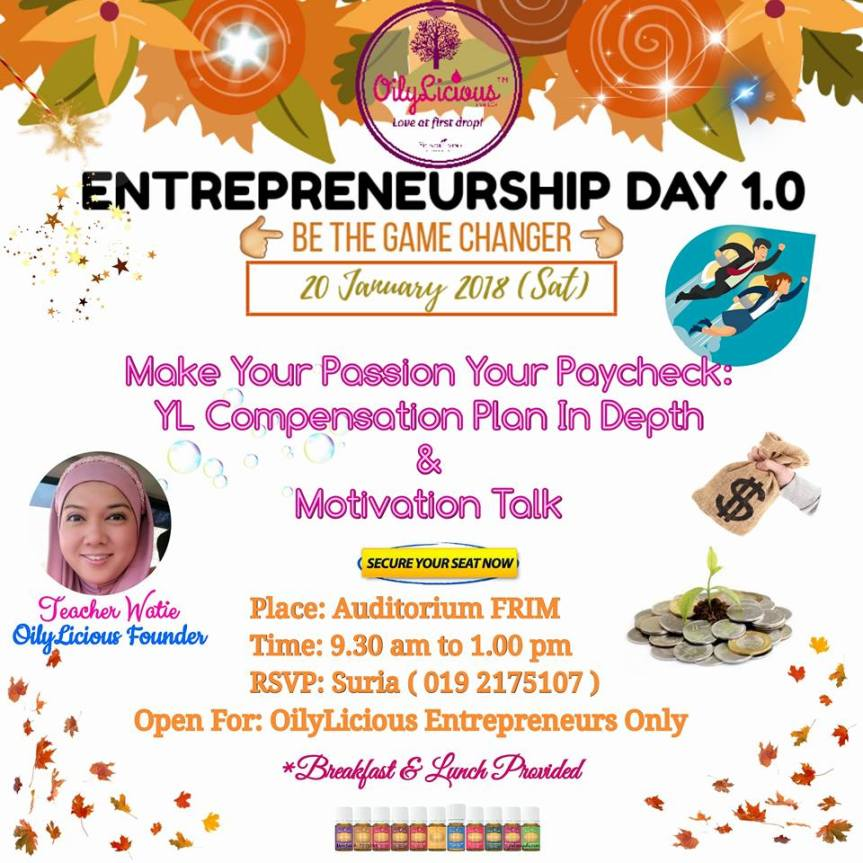 OED TOPIC 1: MAKE YOUR PASSION YOUR PAY CHECK & MOTIVATION TALK BY TEACHER WATIE, OILYLICIOUSFOUNDER.